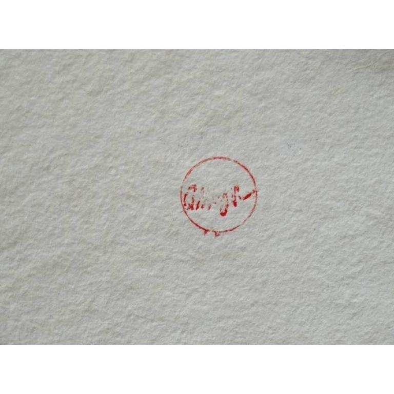 Arman - Saint Michel - Rare Portfolio of 12 Serigraphies and Engravings For Sale 5
