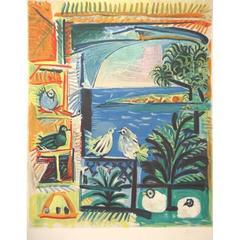 Pablo Picasso - Côte d'Azur - Signed Lithograph