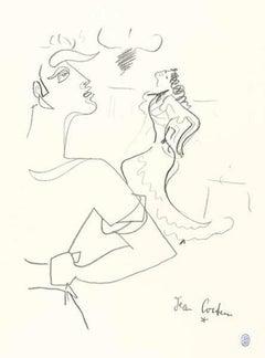 Jean Cocteau - Original Lithograph
