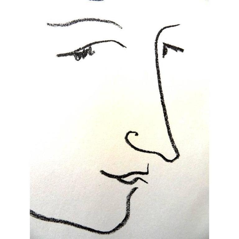 Henri Matisse - Colette - Original Lithograph  - Modern Print by Henri Matisse