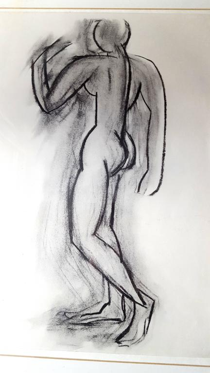 After Henri Matisse - Behind the Mirror - Lithograph