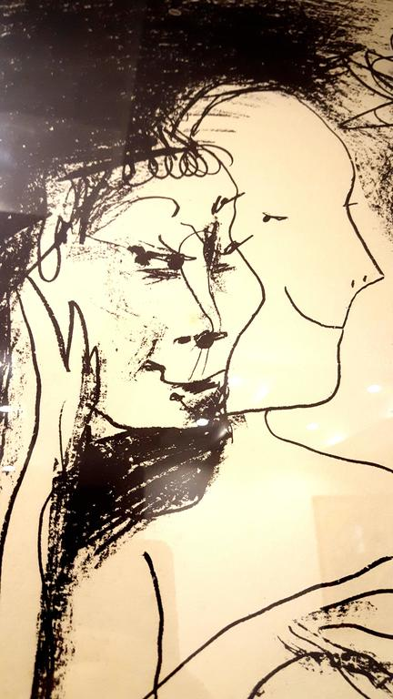 Pablo Picasso - The Old King - Original Lithograph For Sale 1