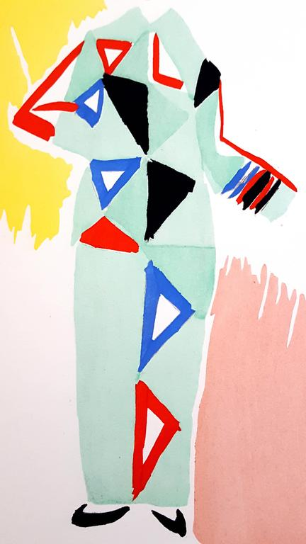 Sonia delaunay sonia delaunay living painting colour for Pochoir prints for sale