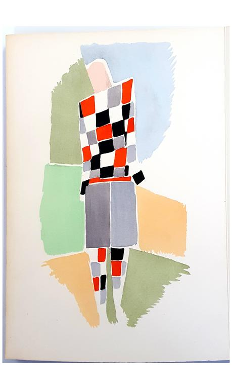 After sonia delaunay terk 27 living paintings colour for Pochoir prints for sale