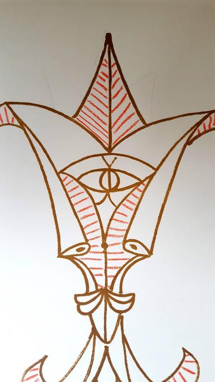 Jean Cocteau - Marine Mountains - Original Lithograph For Sale 3