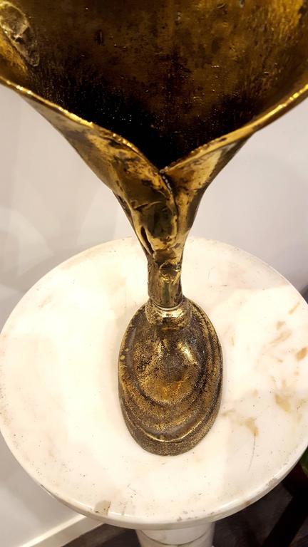 Paul Wunderlich - Leaf - Signed Bronze Sculpture For Sale 5
