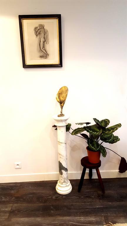 Paul Wunderlich - Leaf - Signed Bronze Sculpture For Sale 7
