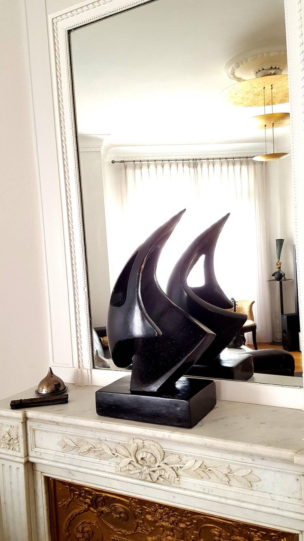 Antoine Poncet - Unique Signed Granite Sculpture For Sale 6
