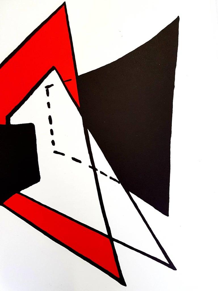 Alexander calder alexander calder original lithograph for Calder derriere le miroir