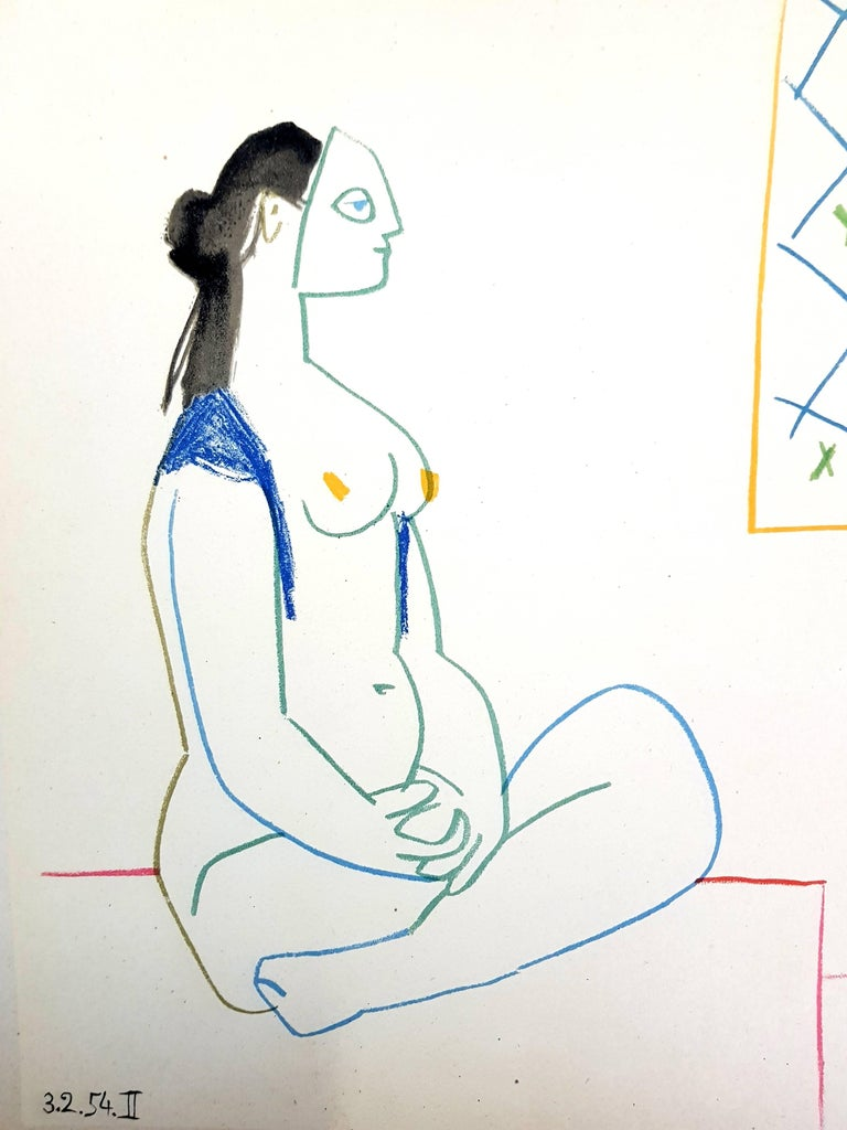 The Human Comedy - Lithograph - Print by (after) Pablo Picasso