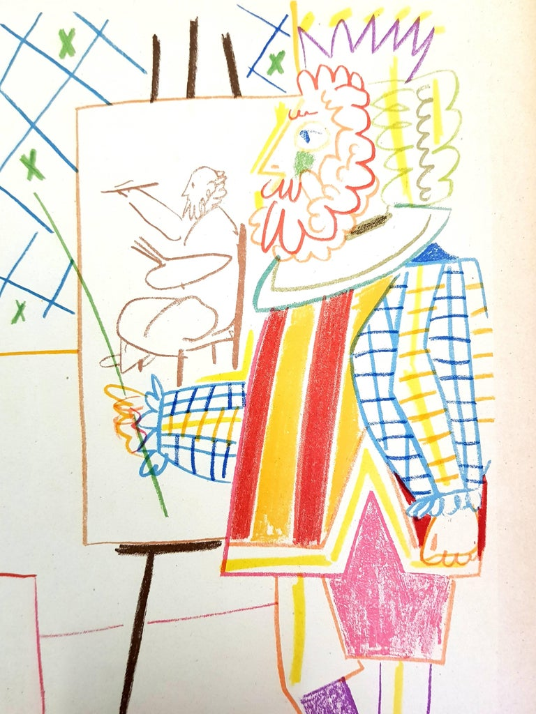 The Human Comedy - Lithograph - Modern Print by (after) Pablo Picasso