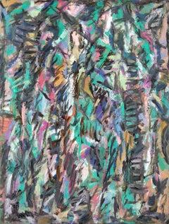 David Lan Bar - Composition - 1978 - Oil on canvas