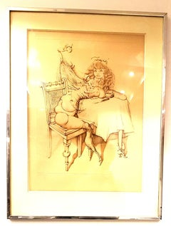 Hans Bellmer - Woman - HandSigned Etching