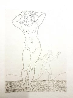 André Derain - Ovid's Heroides - Original Etching