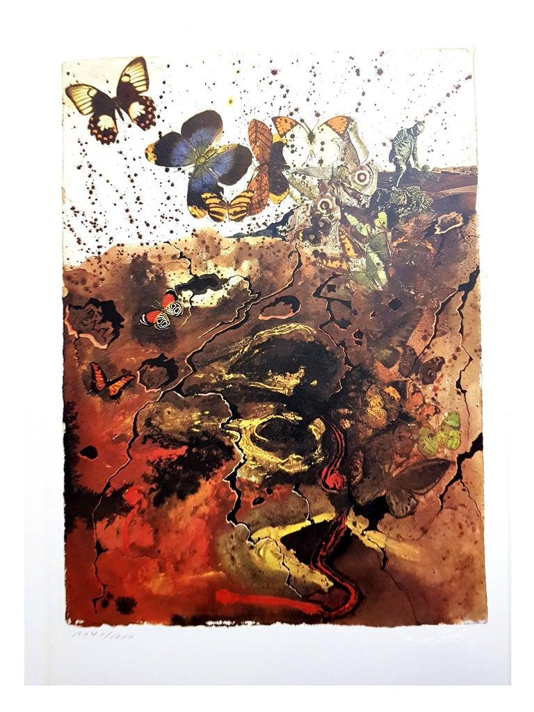 Auvergne - Lithograph For Sale 1