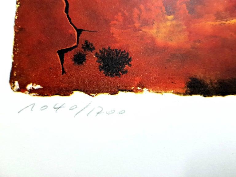 Auvergne - Lithograph For Sale 3