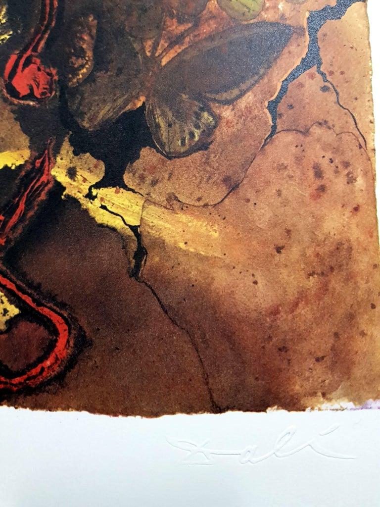 Auvergne - Lithograph For Sale 5