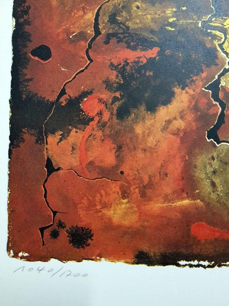 Auvergne - Lithograph For Sale 4