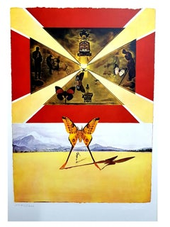 Salvador Dali - Roussillon - Original Lithograph