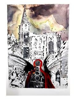 Salvador Dali - Alsace - Lithograph