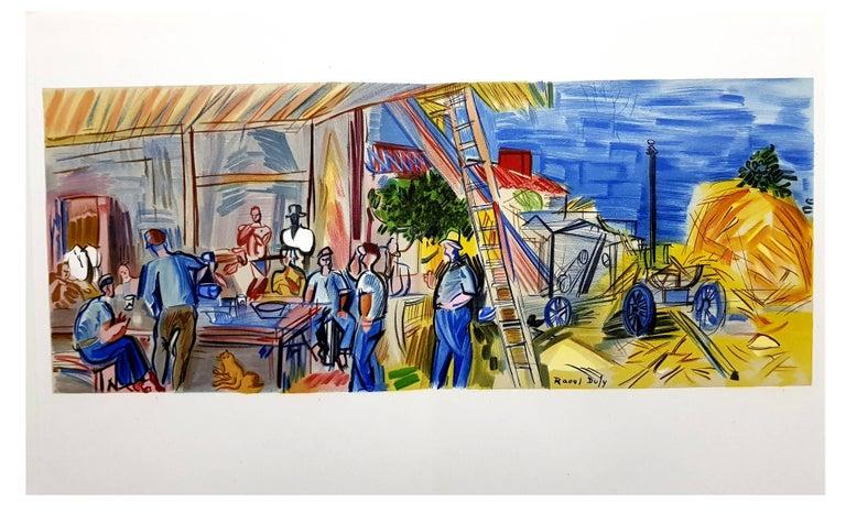 Raoul Dufy (after) - Autoportrait - Lithograph For Sale 7