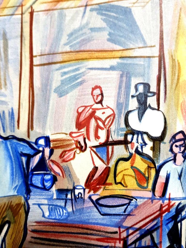 Raoul Dufy (after) - Autoportrait - Lithograph For Sale 2