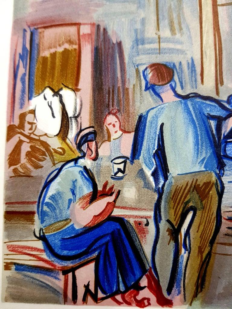 Raoul Dufy (after) - Autoportrait - Lithograph For Sale 4