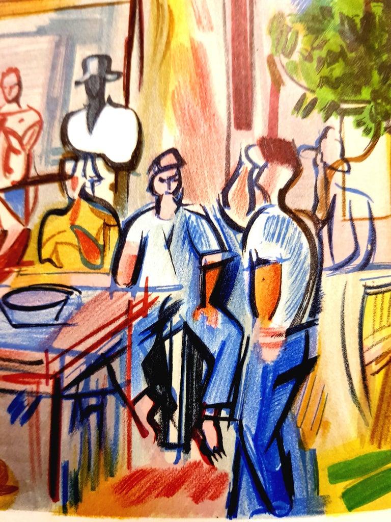 Raoul Dufy (after) - Autoportrait - Lithograph For Sale 3