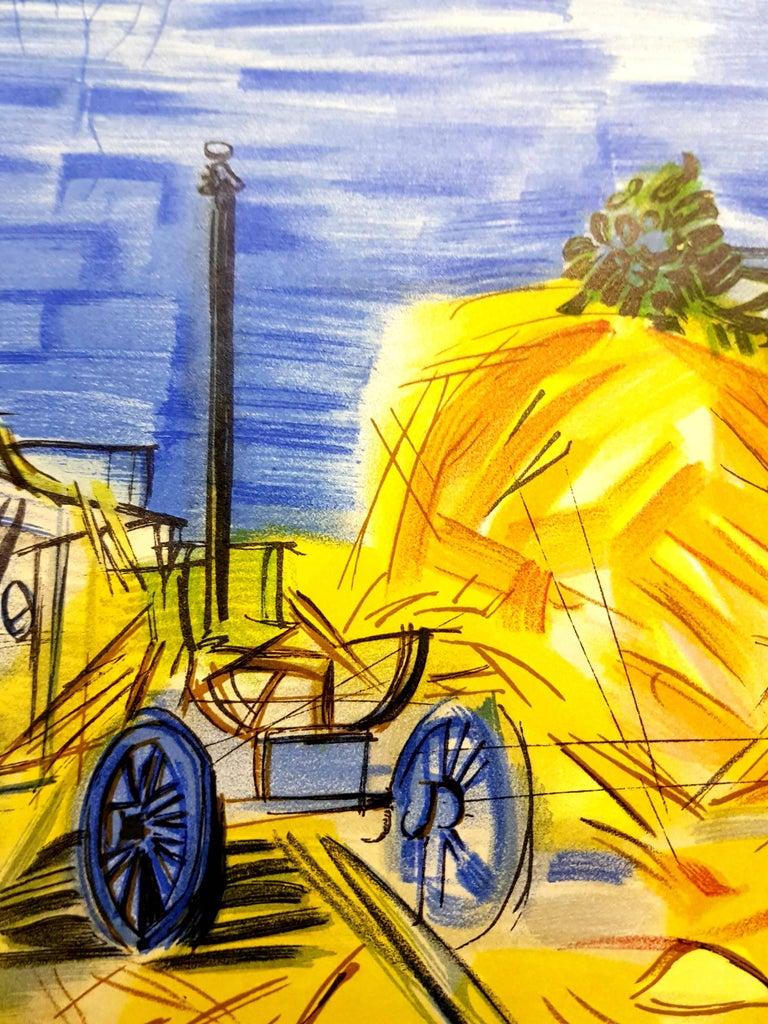 Raoul Dufy (after) - Autoportrait - Lithograph For Sale 5