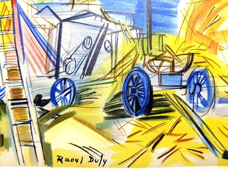 Raoul Dufy (after) - Autoportrait - Lithograph For Sale 1