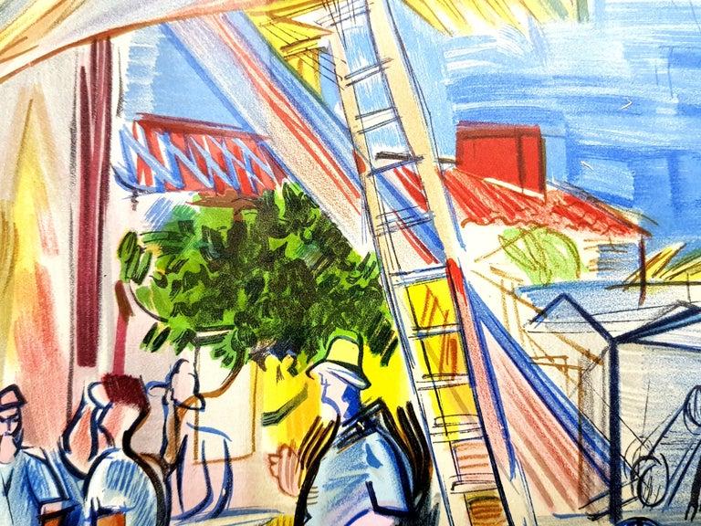 Raoul Dufy (after) - Autoportrait - Lithograph For Sale 6