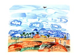 Raoul Dufy (after) - Landscape - Lithograph
