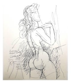 Marcel Gromaire (after) - Homage to Dufy - Lithograph