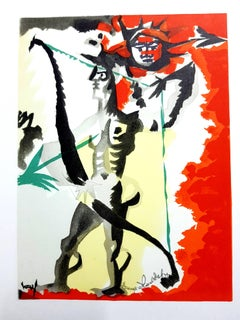 Jean Lurçat (after) - Homage to Dufy - Lithograph