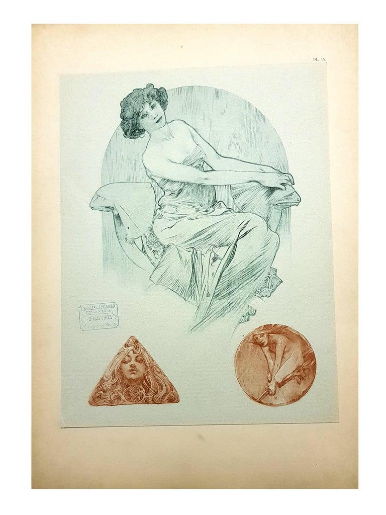 Alfons Mucha - Original Lithograph - Women