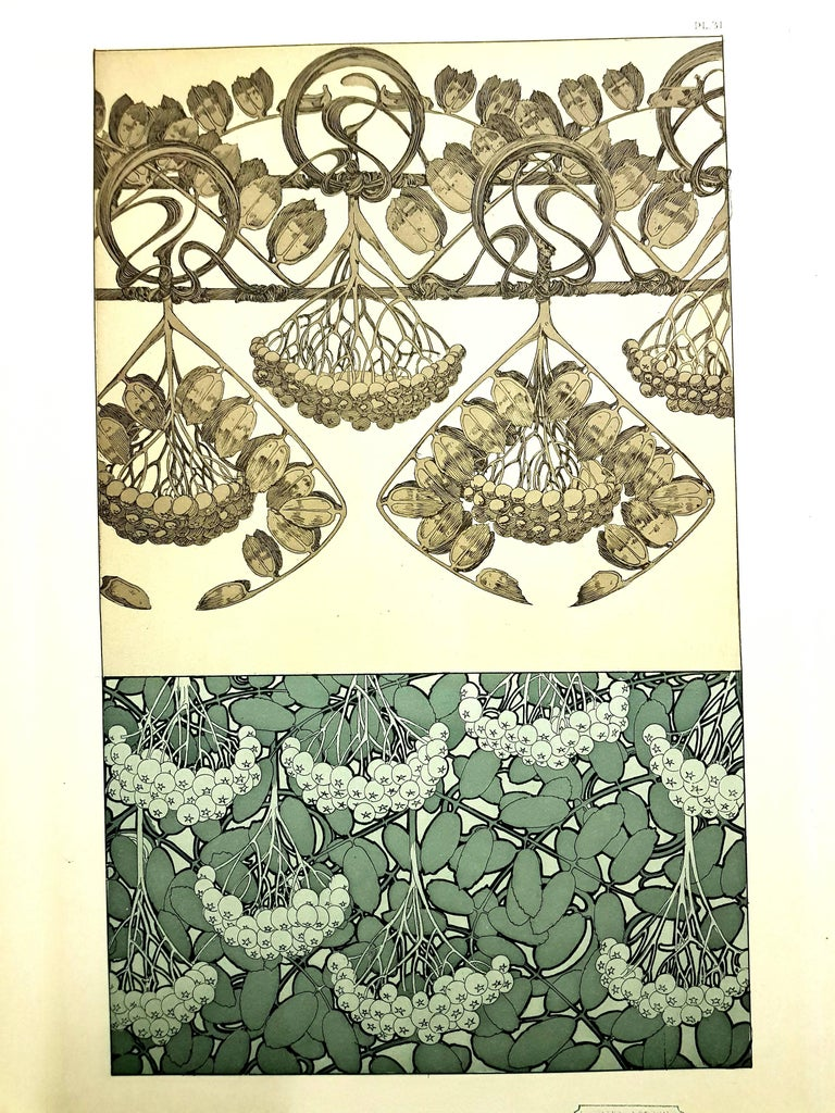 Alfons Mucha - Original Lithograph - Plants