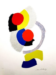 Sonia Delaunay - Composition - Original Lithograph