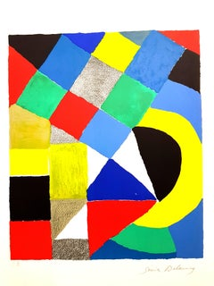 Sonia Delaunay - Composition - Original Signed Lithograph
