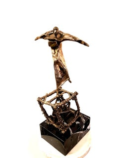 Salvador Dali - Flying - Original Bronze Sculpture