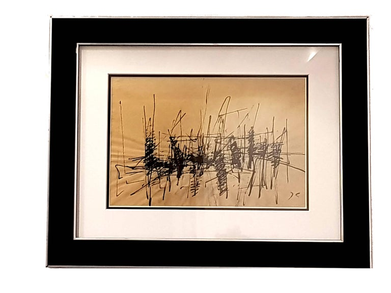 Jacques Germain -Untitled - Original Signed Ink - Art by Jacques Germain