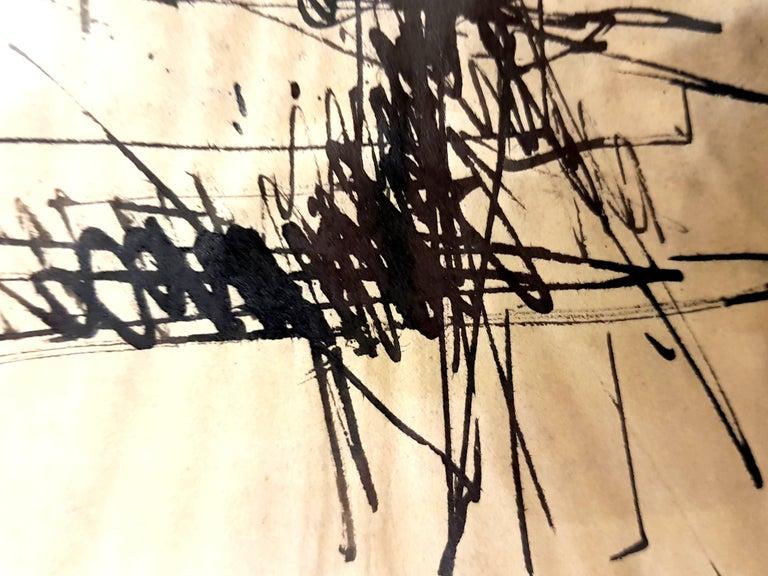 Jacques Germain -Untitled - Original Signed Ink For Sale 2