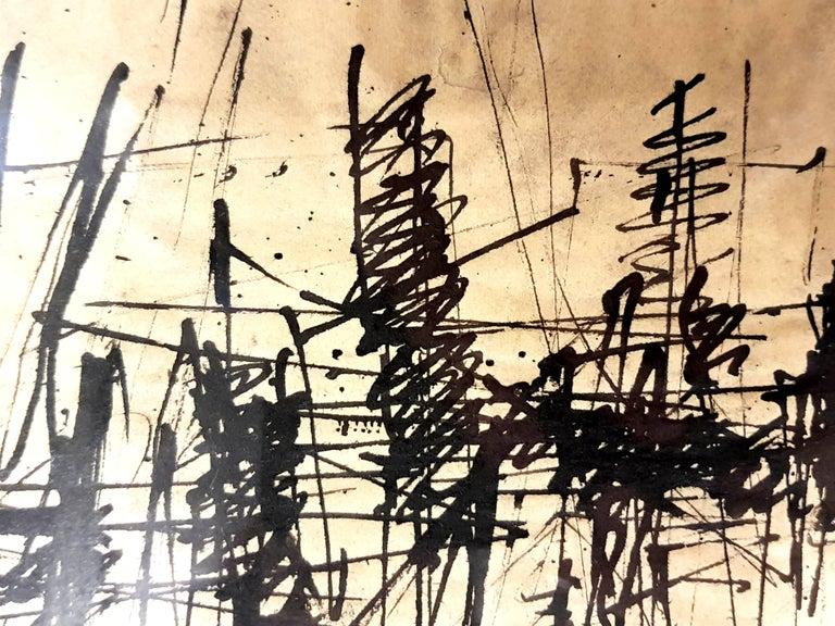 Jacques Germain -Untitled - Original Signed Ink For Sale 1