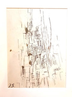 Jacques Germain -Untitled - Original Signed Drawing