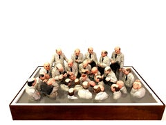 Isaac Cordal - Miniaturization World - Sculpture