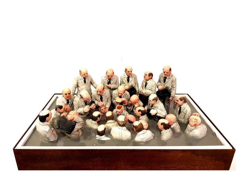 Isaac Cordal - Miniaturization World - Sculpture