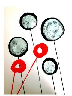 Alexander Calder - Alexander Calder - Original Lithograph - Behind the Mirror