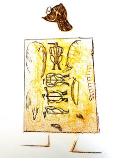 Max Ernst - The Soldier - Original Lithograph
