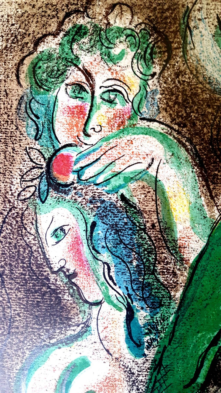 Marc Chagall - The Bible -  Original Lithograph For Sale 1