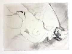 Jean Gabriel Domergue - Women's Love - Original Etching
