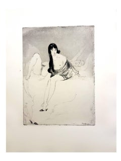 Jean Gabriel Domergue - Women - Original Etching